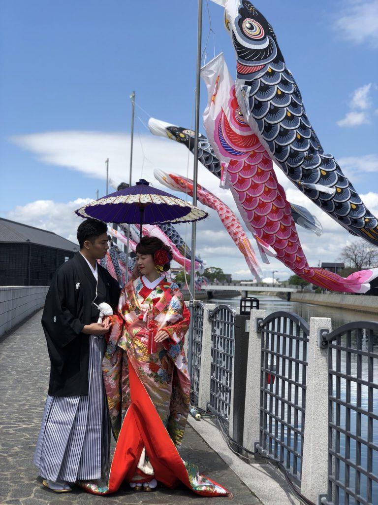 半田運河・蔵の街での結婚式のイメージ写真