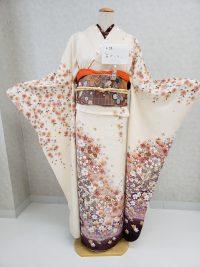 森ガール風振袖コーディネート