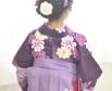 小学校の卒業式 袴を着る時の髪型に悩むお嬢さまに