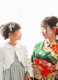 成人式 入学式 ご姉妹様撮影