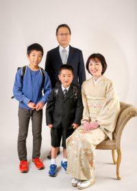 入学式 ご家族様撮影